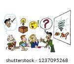 good presentation skills | Shutterstock .eps vector #1237095268