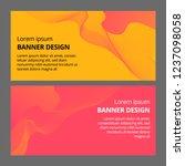 banner background design.... | Shutterstock .eps vector #1237098058