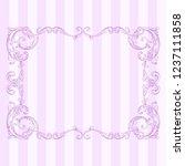 classical baroque vector of...   Shutterstock .eps vector #1237111858