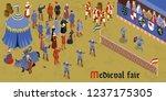 Isometric Medieval Horizontal...