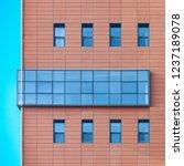 building landmark high rise... | Shutterstock . vector #1237189078
