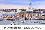 Helsinki Cityscape With...