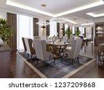 a modern  classic style hotel... | Shutterstock . vector #1237209868