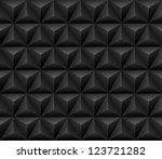 abstract 3d geometric seamless... | Shutterstock .eps vector #123721282