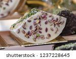 delicious nougat for the...   Shutterstock . vector #1237228645