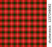 christmas and new year tartan... | Shutterstock .eps vector #1237248082