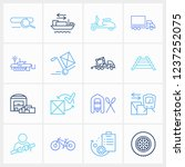 delivery icon set and tyres...
