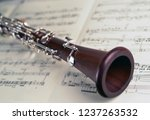 Close Up Of A Clarinet Music...