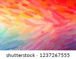 illustration of abstract red ... | Shutterstock . vector #1237267555