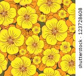 decoration element. floral...   Shutterstock .eps vector #123728608