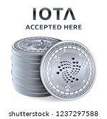 iota. accepted sign emblem.... | Shutterstock .eps vector #1237297588