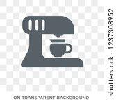 coffee maker icon. coffee maker ... | Shutterstock .eps vector #1237308952