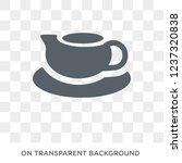 saucer icon. saucer design... | Shutterstock .eps vector #1237320838