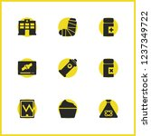 medical icons set with... | Shutterstock .eps vector #1237349722