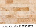 decorative slate beige stone... | Shutterstock . vector #1237355272