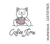 Coffee Time. Illustration Of...