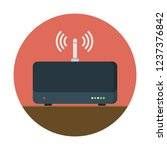 wifi router device | Shutterstock .eps vector #1237376842