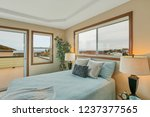 Large Beige Master Bedroom With ...