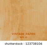 vector vintage brown paper... | Shutterstock .eps vector #123738106