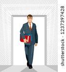 vector illustration of a... | Shutterstock .eps vector #1237397428