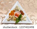 food plates restaurant | Shutterstock . vector #1237402498