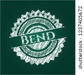 bend on blackboard   Shutterstock .eps vector #1237405672