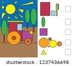 workbook  for preschool...   Shutterstock .eps vector #1237436698