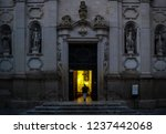 A Church In Lecce  Italy . Doo...