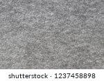 grey fleece fabric. surface... | Shutterstock . vector #1237458898
