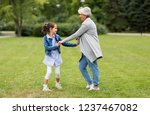 family  leisure and people... | Shutterstock . vector #1237467082