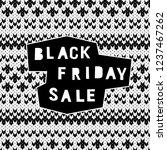 black friday sale event theme.... | Shutterstock .eps vector #1237467262