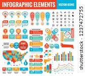infographic elements template...   Shutterstock .eps vector #1237472755