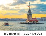 views from istanbul  the... | Shutterstock . vector #1237475035