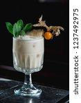 pina colada cocktail. exemplary ... | Shutterstock . vector #1237492975