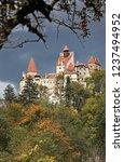 bran  romania   october 15 ... | Shutterstock . vector #1237494952