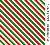red and green stripes christmas ... | Shutterstock .eps vector #1237517542