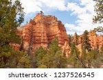 bryce canyon national park ... | Shutterstock . vector #1237526545