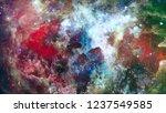 high definition star field... | Shutterstock . vector #1237549585
