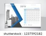 2019 february  illustration... | Shutterstock .eps vector #1237592182