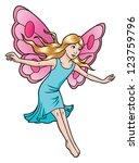 fairy child   Shutterstock .eps vector #123759796