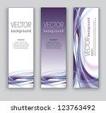 set of banners. vector... | Shutterstock .eps vector #123763492