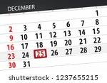 calendar planner for month... | Shutterstock . vector #1237655215