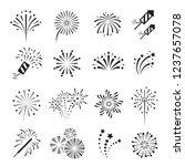 fireworks  firecracker festival ... | Shutterstock .eps vector #1237657078