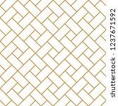 vector ornamental seamless...   Shutterstock .eps vector #1237671592
