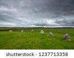 torhouse stone circle  newton... | Shutterstock . vector #1237713358