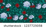 seamless floral pattern in... | Shutterstock .eps vector #1237725058