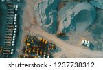 aerial top view of crushed... | Shutterstock . vector #1237738312