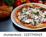 pizza delicious food | Shutterstock . vector #1237745425