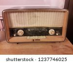 old english radio | Shutterstock . vector #1237746025