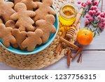 bowl full of homemade... | Shutterstock . vector #1237756315